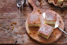 Placinta turnata cu branza dulce Grubs, Ricotta, Camembert Cheese, Deserts, Dairy, Sweets, Cookies, Food, Crack Crackers