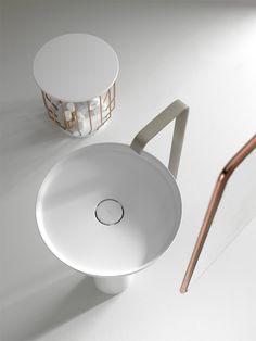 Inbani bath collection: Bowl by Arik Levy #white @inbani