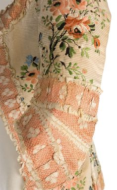 Lace detail on Imatex polonaise jacket