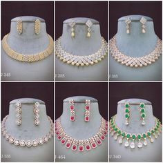 #sets #necklace #earrings #zircon #highquality #richlook  #Beautiful #lovely #elegant #festive #wedding #trendy #designer #exclusive #statement #latest #design #ethnic #traditional #modern #indian #divaazfashionjewellery available Grab them fast 😍😍 Inbox for orders & more details plz Or mail at npsales421@gmail.com Diamond Jewellery, Jewelry Art, Festive, Ethnic, Chokers, Necklaces, Indian, Traditional, Elegant