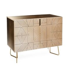 Holli Zollinger LINE MANDALA Credenza | DENY Designs Home Accessories