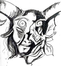 """A sketch inspired by """"Pan's Labyrinth"""""""