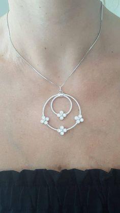 Velvet Necklace Black Choker 10 mm Silver Triquetra Celtic Trinity Knot Gothic