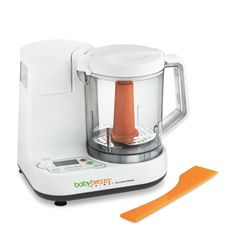 The little guy is ready for solid foods, thinking of getting this - Baby Brezza Prima Baby Food Maker