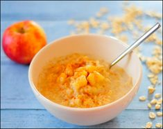 Healthy Breakfast - Apple Pie Porridge  http://www.acenature.com/healthy-breakfast-ideas/