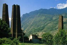 The Himalayan Towers also called Stone star-shaped towers, are a series of stone towers located mostly in Kham, an ancient province of Tibet. Built approximately 500 to 1,800 years ago. For strength, many of the towers use a star pattern of walls as opposed to a strictly rectangular method.