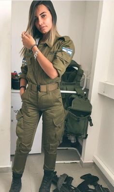 IDF - Israel Defense Forces - Women (:Tap The LINK NOW:) We provide the best essential unique equipment and gear for active duty American patriotic military branches, well strategic selected.We love tactical American gear Idf Women, Military Women, Military Girl, Military Jacket, Israeli Female Soldiers, Israeli Girls, Brave Women, Girls Uniforms, Armada