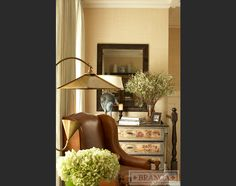 Alessandra Branca, Chicago Townhouse, Living Room Detail