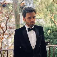 Sebastian ✪ Stan 75th Annual Golden Globe Awards, Los Angeles   January 7, 2018