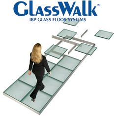 glass flooring repinned by Abbey Carpets in San Jose. (408)3592452