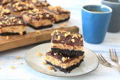 Pindakaas cheesecake bars – SINNER SUNDAY
