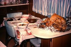 Thanksgiving-1960   #5-kodachrome & vintage color- events ...