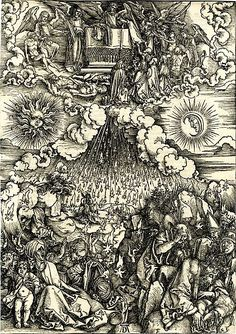 Dürer - The opening of the fifth and sixth seals