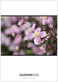 garden of delights - this year's calendar