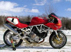 Supersport Pictures - Let's See 'Em Retro Motorcycle, Cafe Racer Motorcycle, Motorcycle Design, Ducati Pantah, Ducati Supersport, Ducati Motorcycles, Vintage Motorcycles, Ducati 600, Ducati Cafe Racer