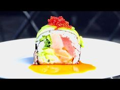 Mexican Sushi, Crave Restaurant, How To Make Sushi, Sushi Rolls, Menu Items, Cravings, Ice Cream, Cake, Ethnic Recipes