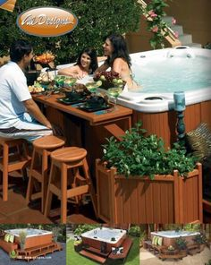 Spa Surrounds & Accessories for Every Hot Tub