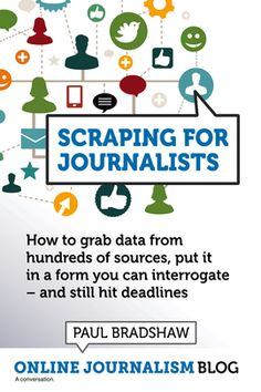 Ebook - tips for grabbing data from sources to use as part of your news story