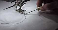 Turning Tight Corners On A Sewing Machine Can Be Tricky, Unless You Use This Tip!