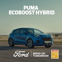 The New Ford Puma is here with innovative design, bold styling, sophisticated hybrid engine and smart assistance technologies Ford Puma, At Home Workout Plan, At Home Workouts, Sporty Suv, Ford 2020, 4th Of July Images, Dad's Army, Lake Pictures