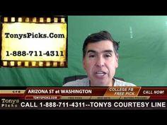 Arizona St Sun Devils vs. Washington Huskies Pick Prediction College Foo...