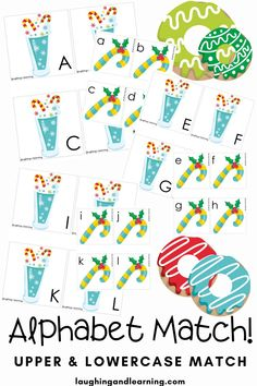 Sweeten up any Christmas themed learning environment with this Christmas Treats Mini Activity Bundle! Have fun with these 10 hands-on activities! #printableactivities #preschoolactivities #literacyactivities #preschoolliteracycentre #printableliteracyactivitiy #printableliteracyactivities #education #printableactivitiesforkids  #christmasthemedactivities Christmas Activities For Kids, Printable Activities For Kids, Alphabet Activities, Hands On Activities, Educational Activities, Printable Art, Preschool Literacy, Kindergarten Activities, Early Reading