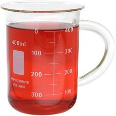 Glass Beaker Mug - 400ml @ xUmp.com