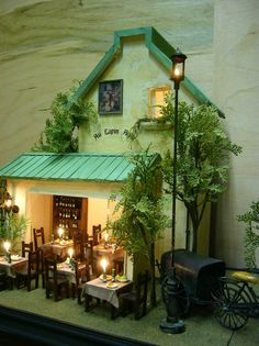 dollhouse cafe