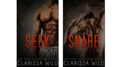 SEEK and SNARE by Clarissa Wild Cover Reveal + Giveaway ~
