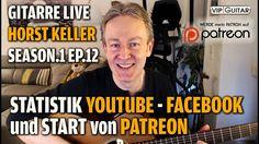 Statistik: Youtube, Facebook, Start von Patreon. S1 EP.12 Horst Keller