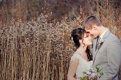 Fall Bride and Groom / Autumn Wedding Ideas   www.jamesstokesphotography.com
