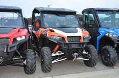 Used 2016 Polaris General 1000 EPS Deluxe Orange Burst ATVs For Sale in Minnesota.