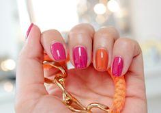sommer nagellack trend farbe berry orange