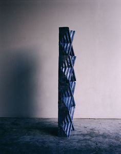 Sara VanDerBeek, Blue Caryatid at Dusk, 2010, Chromogenic print, 50.8 x 40.6 cm, Collection of the artist; courtesy of Metro Pictures, New York and Altman Siegel Gallery, San Francisco, © Sara VanDerBeek 2010
