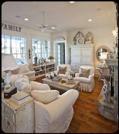 Living shabby chic style...