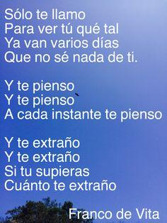 Franco de Vita- Y te pienso  #phonto