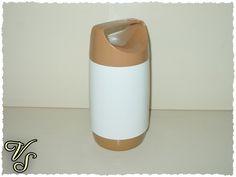 Vintage Krüge - Isolier-Speisegefäß - warm/kalt - Zimmermann - ein Designerstück von Vintageschippie bei DaWanda