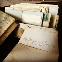 Jan 27: 110 year old love letters. Makes you wish life was still this simple