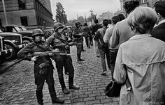 The Day the Tanks Rolled In, Russian Invasion of Czechoslovakia, 1968, Josef Koudelka