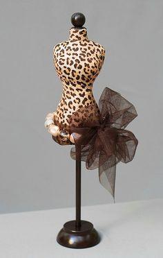 inspiration: mini dress form pincushion