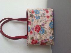 Reversed red denim reversible tote Reversible Tote Bag, Ted Baker, Diaper Bag, Denim, Red, Bags, Handbags, Diaper Bags, Mothers Bag