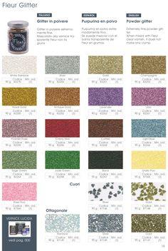 Catálogo #glitter #purpurina #polvodeangle #fleurpaint
