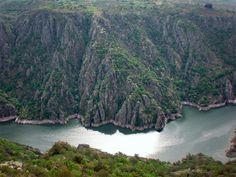 Ruta de los miradores. Ribeira Sacra. Sober. (Lugo). Galicia. Spain.