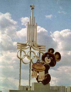 Olympic Games 80  russia  bear mascot