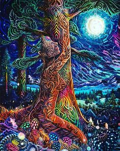 Mother earth. You are awesome. #psychedelic #spiritual #art #visionary #yoga…