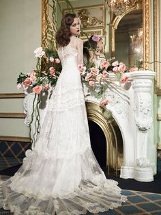 YolanCris | Vintage wedding dresses for vintage brides by YolanCris