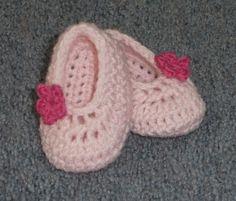 Free Crochet Baby Booties Pattern. by 4ubaskets