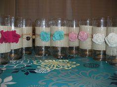 Reduce, Reuse, Renewed: Scrap Fabric Decorative Vases & Candle Lanterns