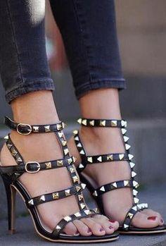 high heels – High Heels Daily Heels, stilettos and women's Shoes Stilettos, Pumps Heels, Stiletto Heels, Heeled Sandals, Shoes Sandals, Sexy Sandals, Gladiator Heels, Leather Sandals, Heels Outfits