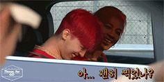 G Dragon and Taeyang on Running Man